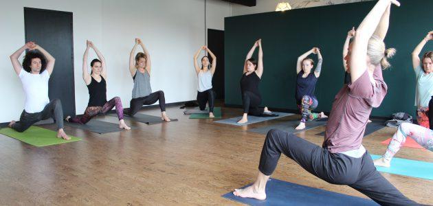 English yogaclass
